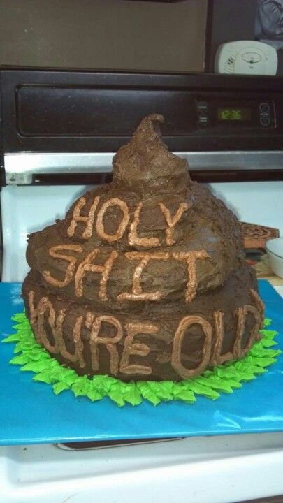 Over the hill cake. Lol Thinking I'm going to make this for my dad's 40th birthday.. :D