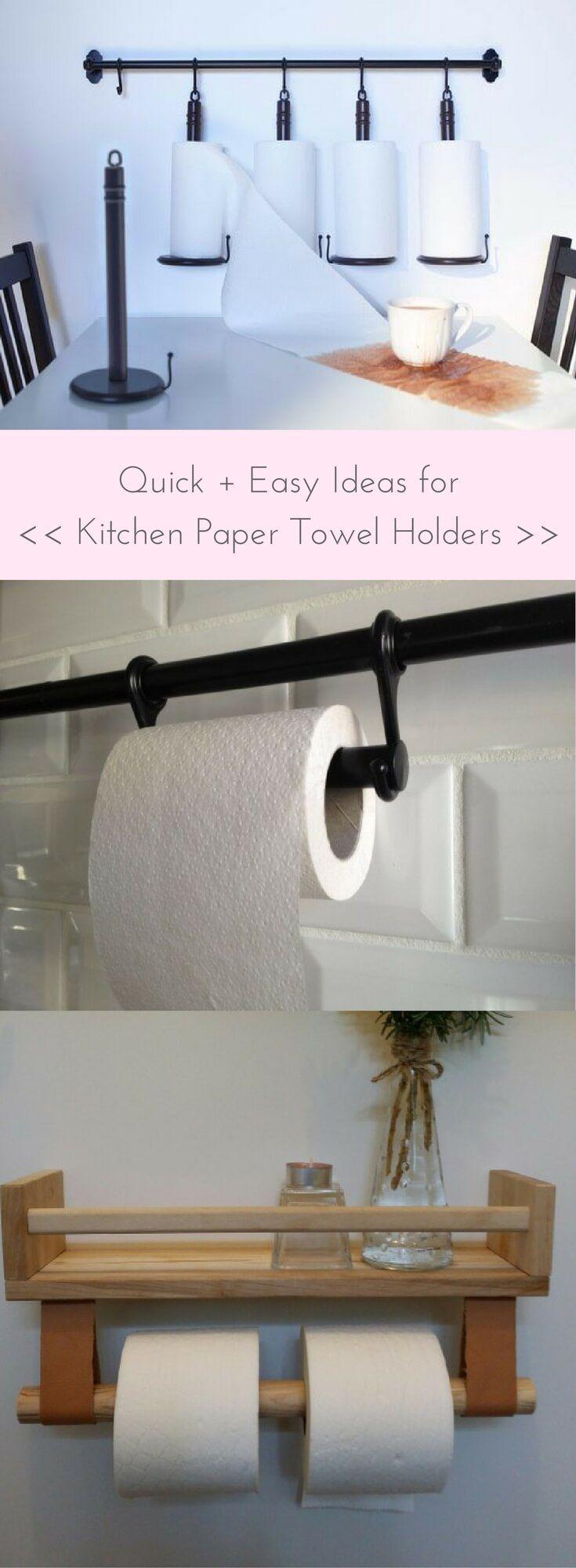 Attraktiv Ideas For Kitchen Paper Towel Holder Http://www.ikeahackers.net/