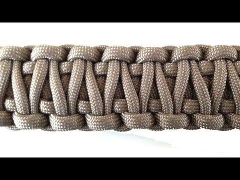 [TUTO] Bracelet de Survie en Paracorde N°1 - COBRA - YouTube