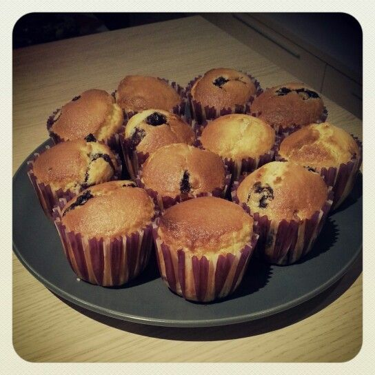 #muffins #blueberry