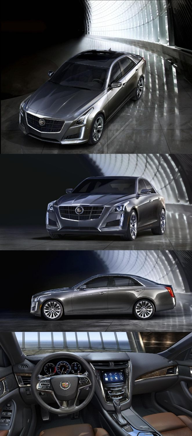 Yes. This is the all-new 2014 Cadillac CTS. The luxury sedan made its debut last week at the New York International Auto Show. You have some options under the hood - a 3.6-liter V6 that delivers 321-horsepower,  a 2.0-liter that churns out 272-horsepower or a GM first twin-turbo V6 that flaunts 420-horsepower! Joe Self Chevrolet cannot wait to get this powerhouse of luxury on its lots!
