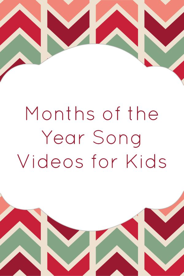 Months of the Year Song - 12 Months of the Year - Kids ...