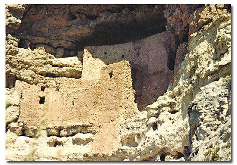 Montezuma Castle National Monument - DesertUSA