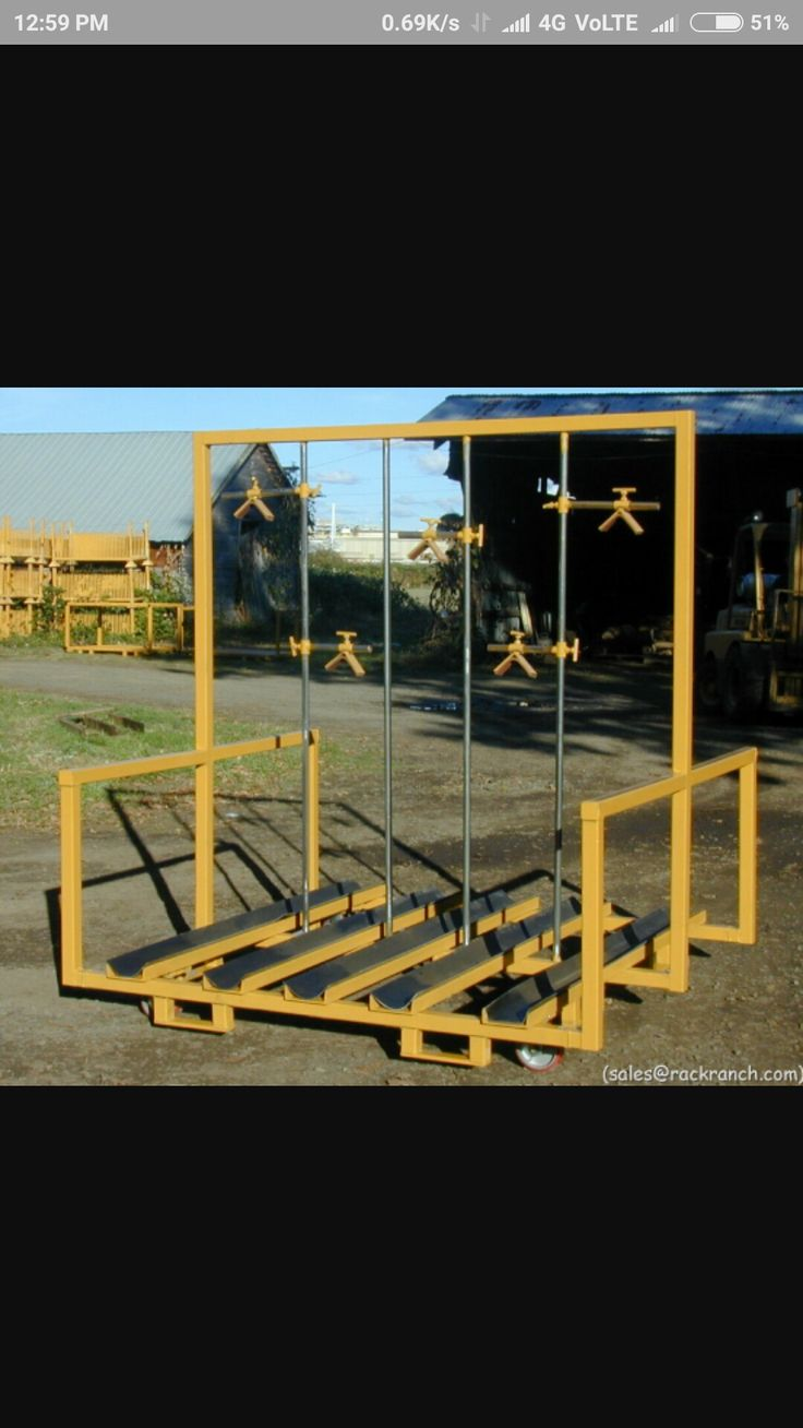 12 Best Gas Cylinder Trucks Racks And Stands Images On