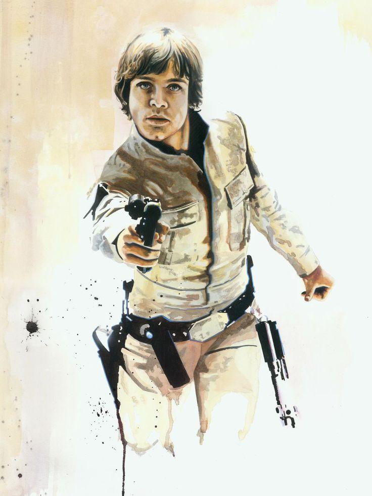 Luke Skywalker by Brian Rood