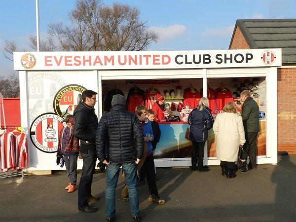 Evesham United FC Club Shop