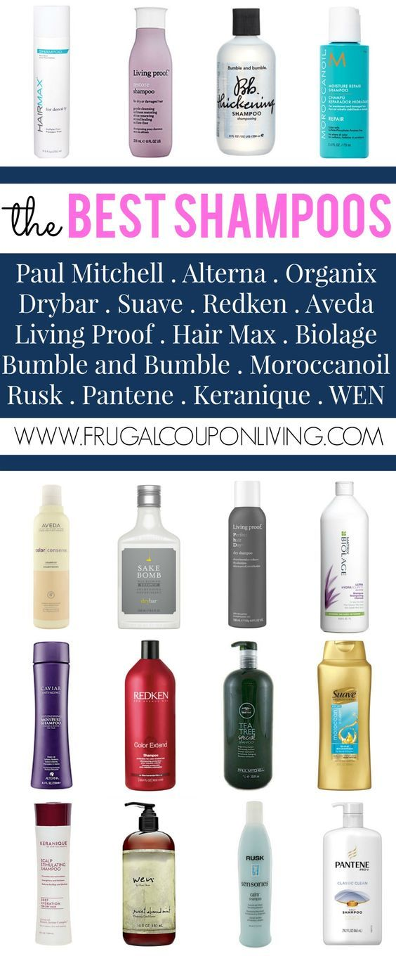 The Best Shampoos – For Manes that Shine! Paul Mitchell, redken, Alterna, Organix, Drybar, Suave, Aveda and more in our roundup on Frugal Coupon Living.