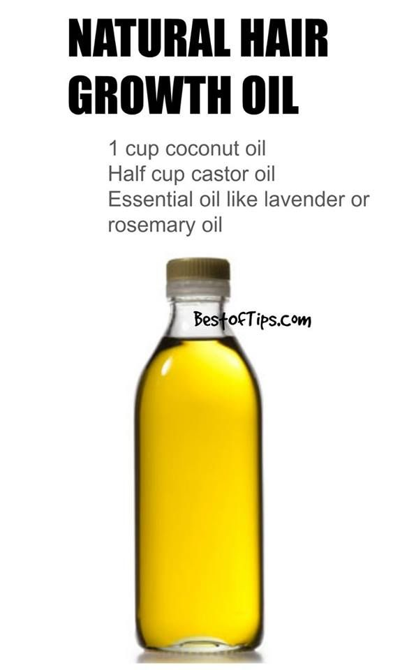 Natural Hair Growth Oil