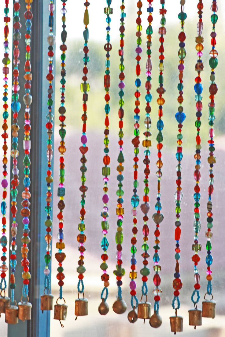 Door bead curtains for kids - Beaded Curtain Glass Beaded Suncatcher Window Curtain Beaded Door