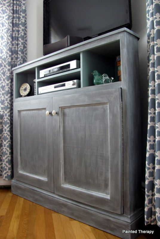 "Build your own ""Get Out of the Way of the TV"" console :: Hometalk"