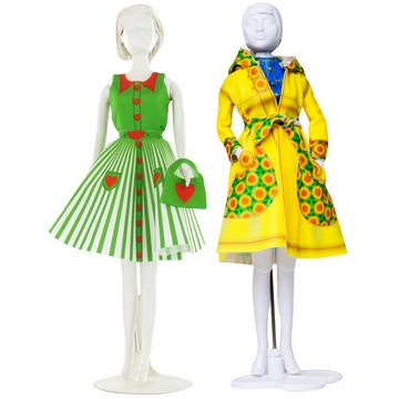Peggy & Fanny Outfits 2Pk, 14€, now featured on Fab.