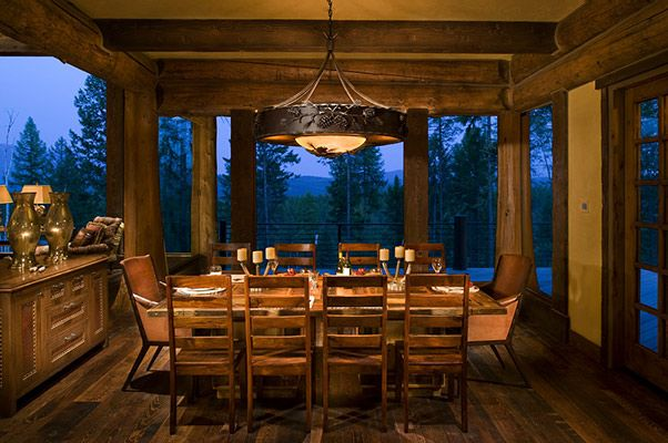 17 Best Images About Rustic Dining Areas On Pinterest