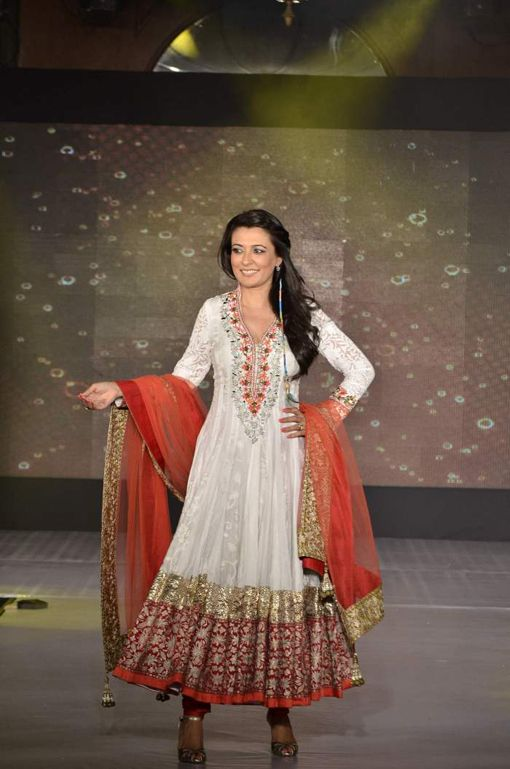 Mini Mathur in  Manish Malhotra Bridal Fashion