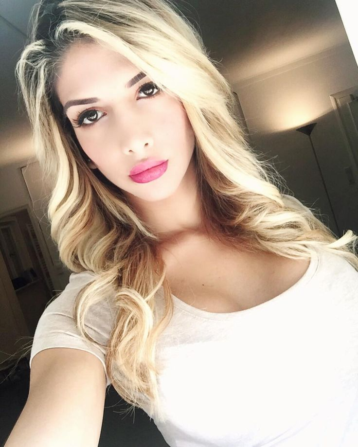 Cute Blond Transsexual With