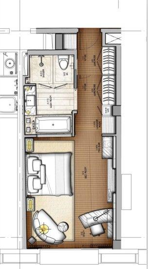 一个酒店的标准间30种思路 - 方案讨论 - 室内中国 INTERIOR DESIGN CHINA ...