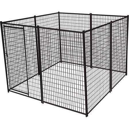 Lucky Dog Heavy Duty Dog Kennel, 6' H x 10' W x 10' L Keep your pets safe with the Lucky Dog Heavy Duty Dog Kennel. It is made from pre-built 5' wide Read  more http://dogpoundspot.com/dog-luxury-store-1805/  Visit http://dogpoundspot.com for more dog review products