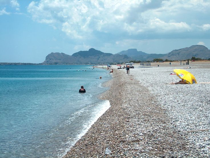 Afandou Beach Rhodes, Greece