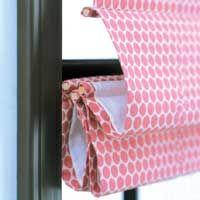 DIY Roman Blinds - http://www.bhg.com/decorating/window-treatments/window-projects/roman-shade/