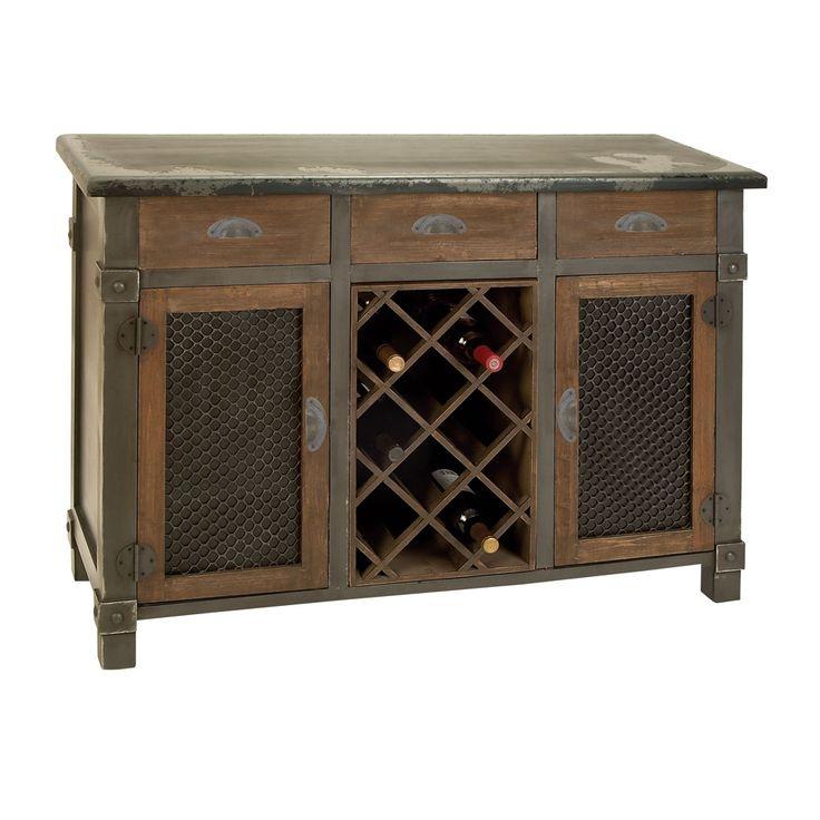 Rustic Wine Cabinet.