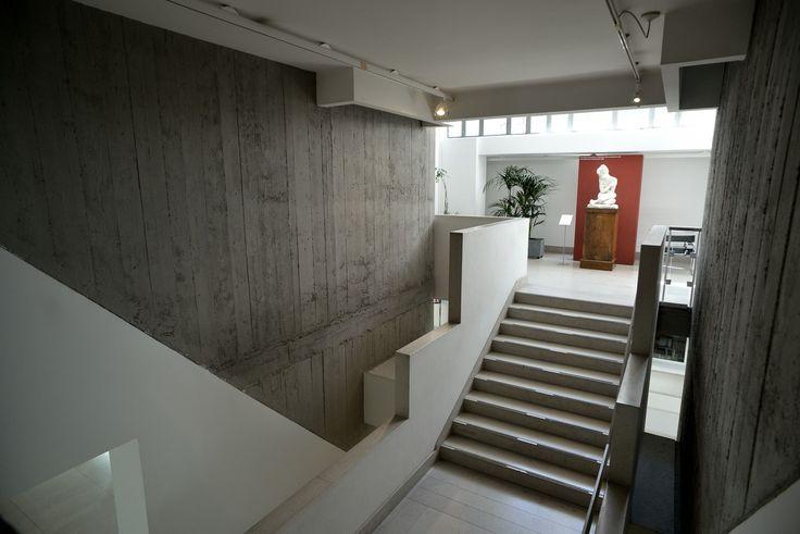 Museo Revoltella, Trieste. La scala che porta al quarto piano. Foto Mattia Visintini.