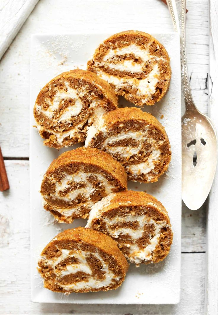 Amazingly moist, flavorful, pumpkin roll that's made in one bowl and entirely vegan and gluten free! The perfect plant-based dessert for the holiday season.