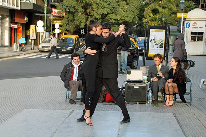 Tango in the Streets - Recoleta - Buenos Aires