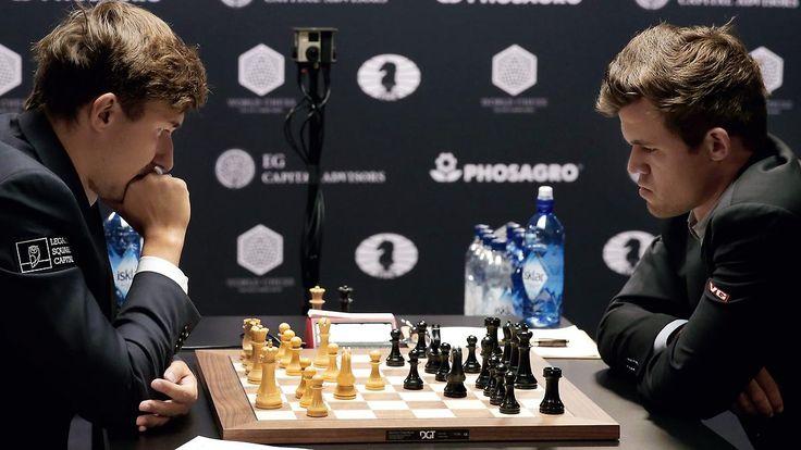 Drittes Remis im Schach-WM-Duell: Magnus Carlsen kann Vorteil nicht nutzen