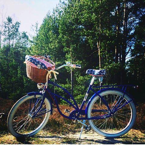 Modelo de bicicleta disponible en nuestra tienda FavoriteBike BICICLETA RETRO VINTAGE LA MARINA Bicicleta retro, vintage para mujer en color azul marinero. Bicicleta con portaequipaje. Sillín y los puños diseñados de piel en color blanco. Cable de freno en color rojo.Los accesorios están incluidos en el precio. La posición natural de conducción te permite tener la espalda recta y las muñecas relajadas. La marca Embassy crea bicicletas con estilo urbano de los años 80.