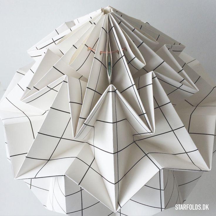 DIY_lampe fold en lampeskærm
