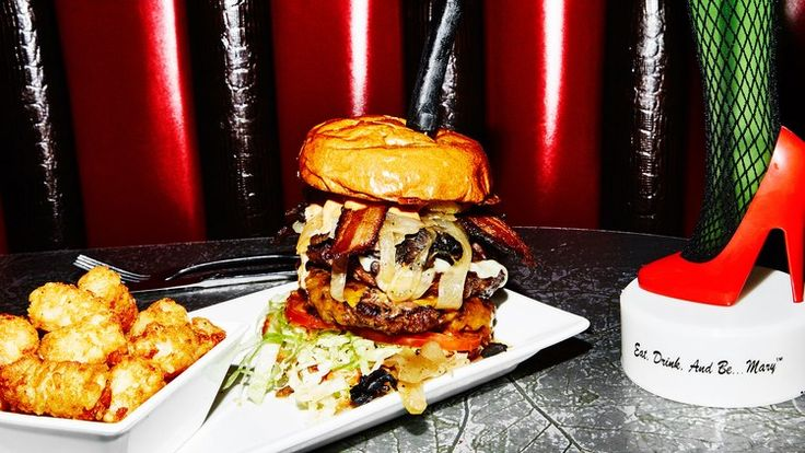 Hamburger Mary's: The Drag Queen Burger Joint That's Planning World Domination   Bon Appetit