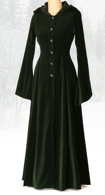 442 - Beltane Coat - Gothic, romantic, steampunk clothing from The Dark Angel