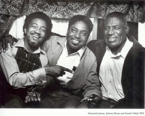 Homesich James, Johnny Shines & Howlin Wolf