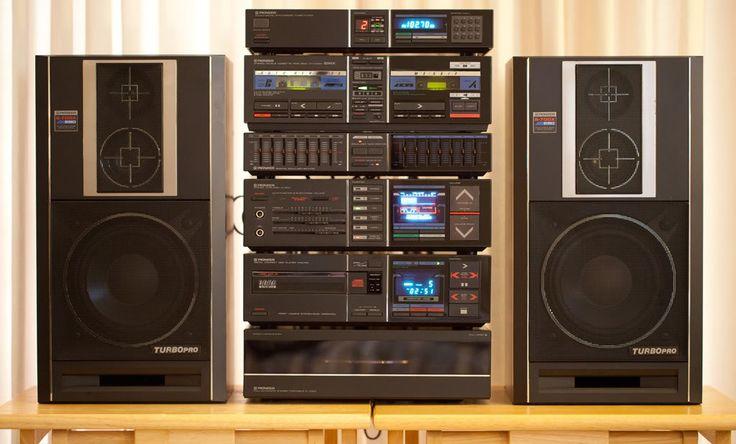 pioneer progression iv system 1985 vintage electronics. Black Bedroom Furniture Sets. Home Design Ideas