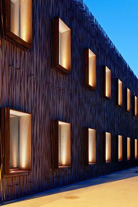 House of Fates - European Education Center - Simes S.p.A. luce per l'architettura