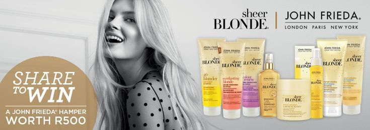 Read more about John Frieda Sheer Blonde® & stand to win!