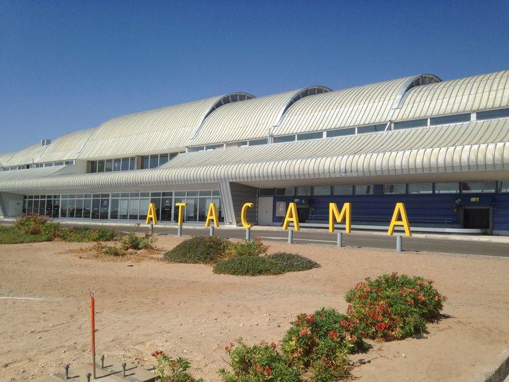 Aeropuerto desierto Atacama, Copiapo , Chile