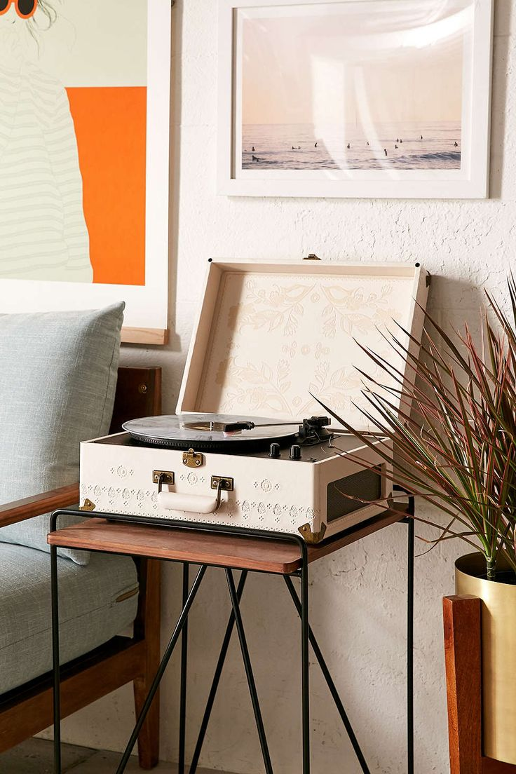 Crosley X UO AV Room Embossed Portable USB Vinyl Record Player