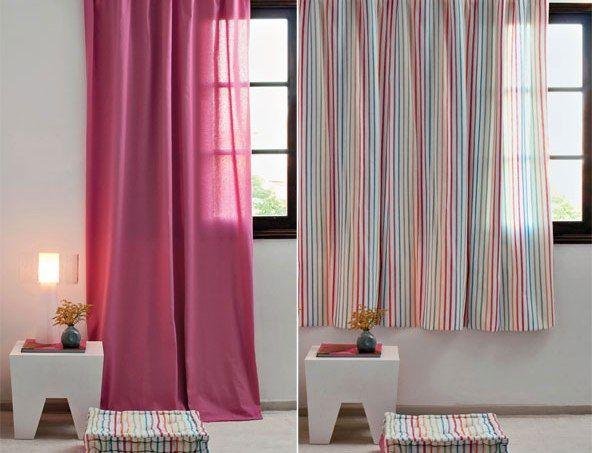 Desvendamos o mistério que ronda o caimento do tecido, o comprimento da cortina e até sua distância em relação ao teto.