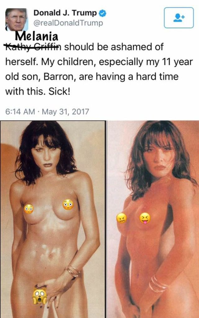 """Where is the Shame every American should feel to see our """"Absentee First Lady"""" Spread Eagle Naked for the entire World to see?? No Shame here America?? Why??"""