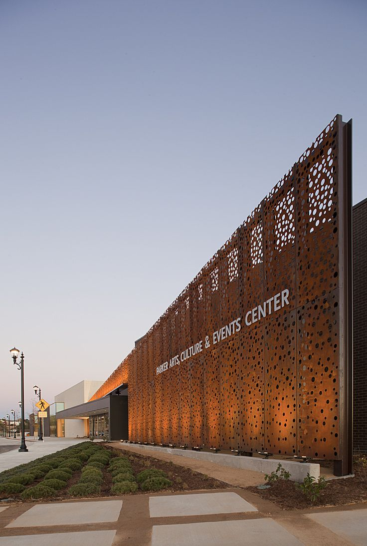 Parker Arts & Cultural Events [ PACE ] Center in Colorado by Semple Brown Design