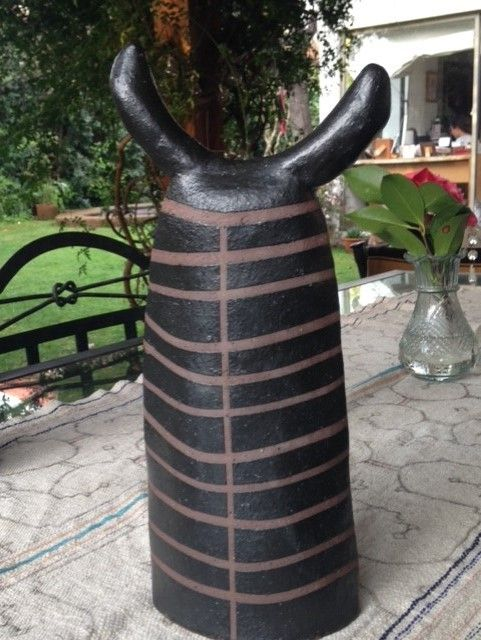 handmade Selknam en ceramica