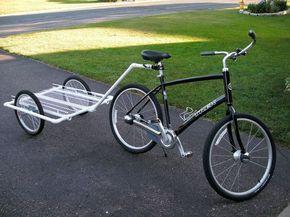 PVC Bike trailer INSTRUCTABLE.com