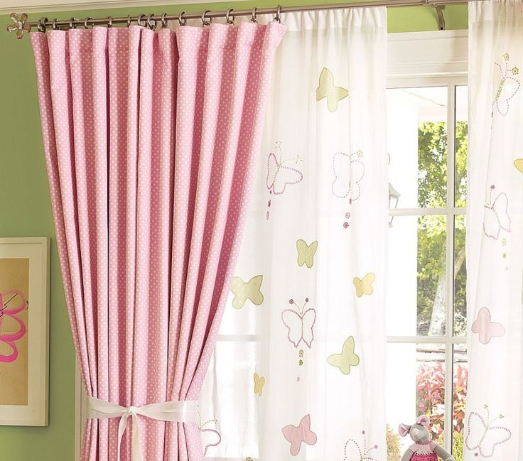 1000+ ideas about White Babies Curtains on Pinterest