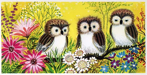 Vintage Owls?  What goes around, comes back around!