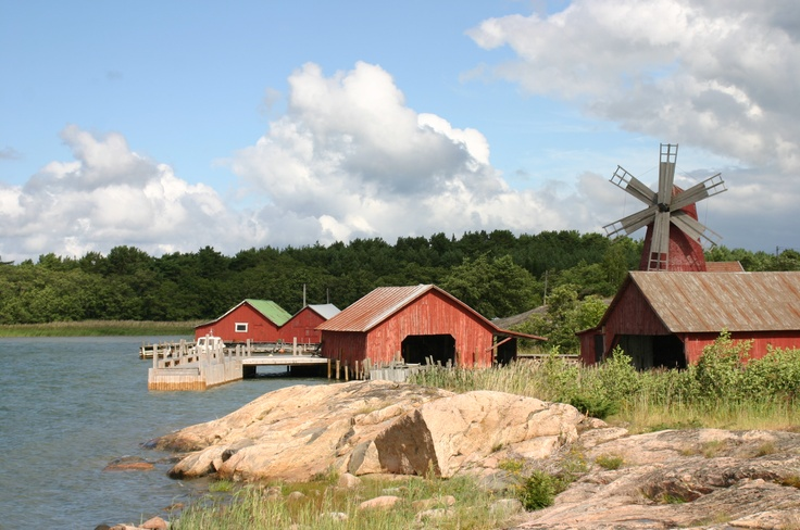 #Åselholm island in the beautiful archipelago of Finland