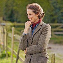 Fischgrat-Blazer aus Harris Tweed     bestellen - THE BRITISH SHOP - englische Damenkleidung online günstig kaufen