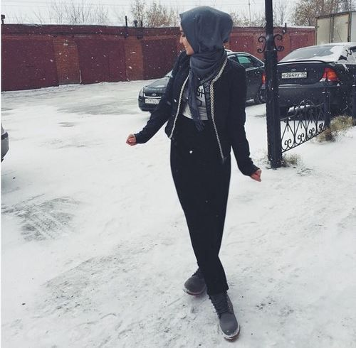 รูปภาพ fashion, hijab, and alexandra golovkova