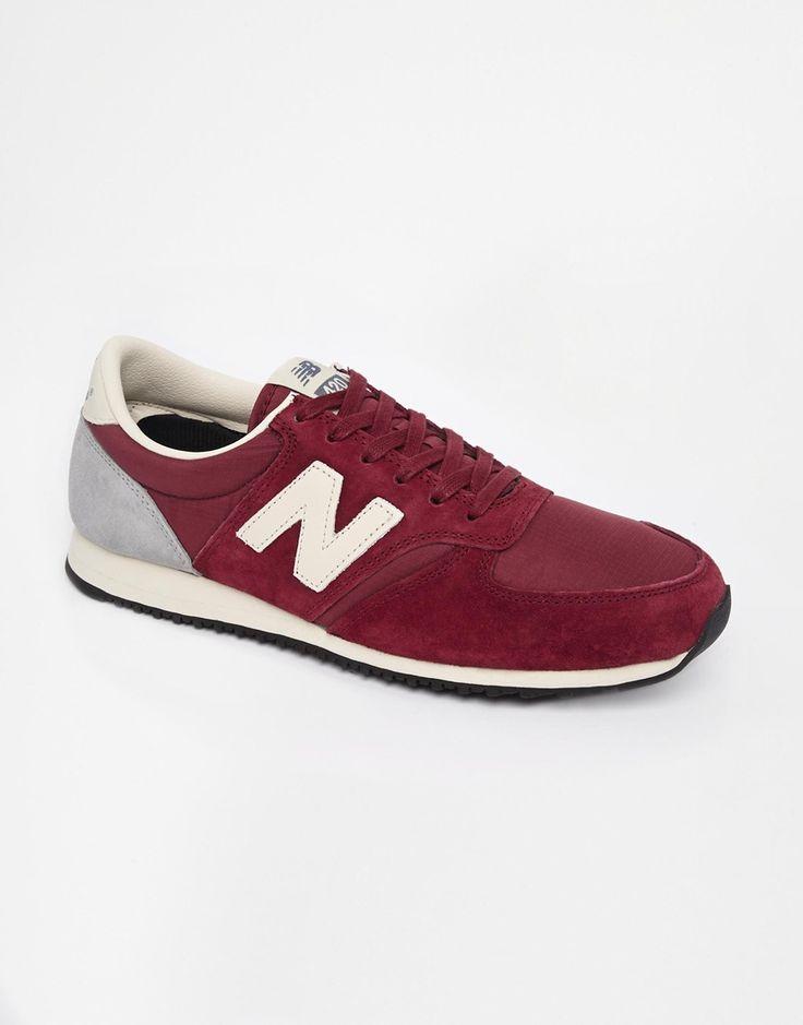 new balance 420 navy red