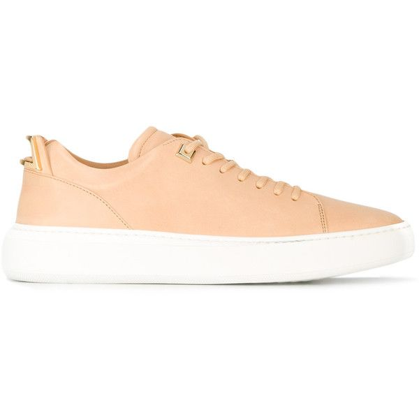 Buscemi New Low Leather Sneaker ($730) ❤ liked on Polyvore featuring men's fashion, men's shoes, men's sneakers, ecru, buscemi mens sneakers, buscemi mens shoes, mens leather sneakers, mens leather shoes and men's low top sneakers