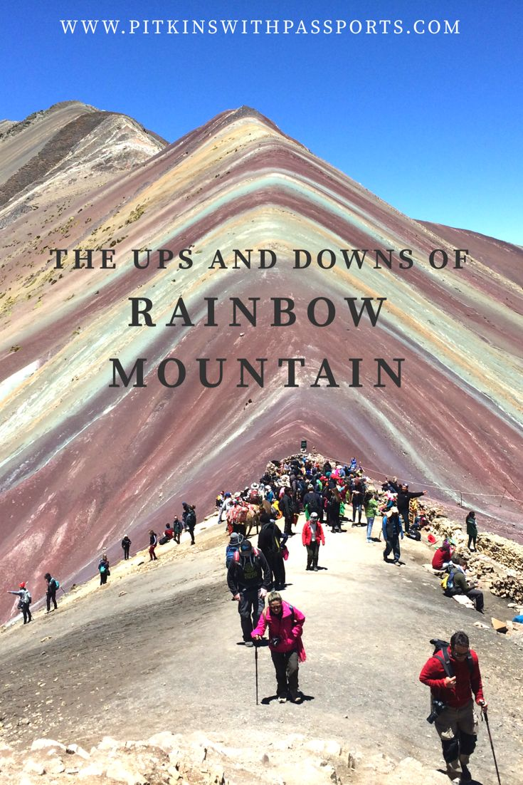 Rainbow Mountain has to be one of the most difficult things we've ever done, but we're so glad we did it! Have a read of our one-day trek to this beautiful mountain, which sits at 5200m above sea level.